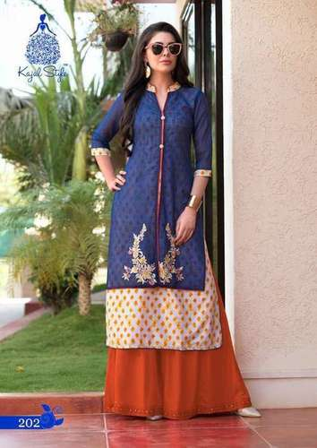 DOUBLE TOP Ladies Kurti