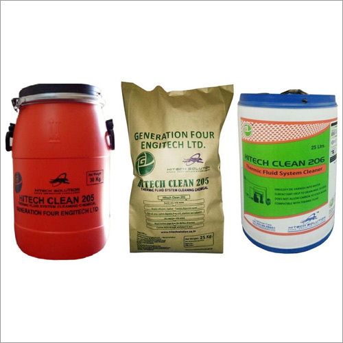 Thermic Fluid Heaters Cleaning Chemicals
