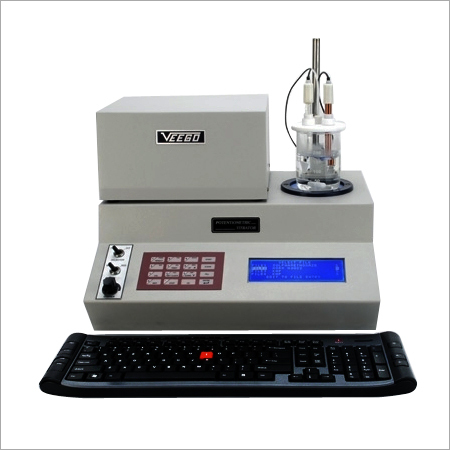 DIGITAL POTENTIOMETRIC TITRATION APPARATUS WITH 21 CFR