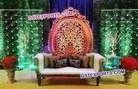 Indian Wedding Lighting Reception Decorations