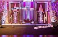 Indian Wedding Reception Wedding Stage