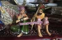 Rajasthani Theme Wedding Fiber Statue