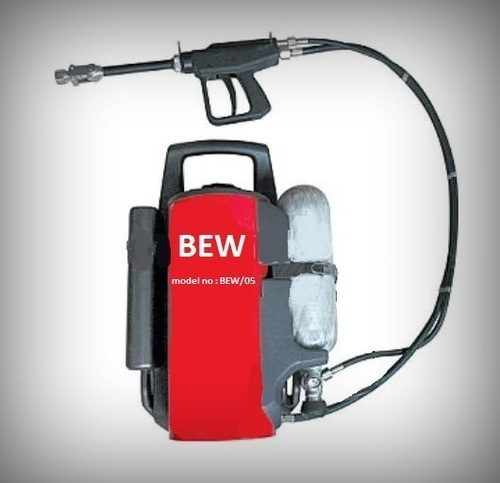 Back Pack Water Mist Fire Extinguisher