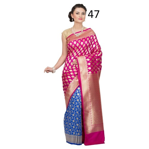 Banarasi Traditional Half n Half Saree.