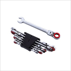 Ratchet Wrench Set With Stop Ring & Magent