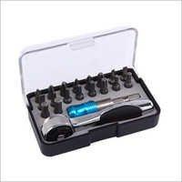 20 pcs - 72 Teeth Ratchet Multi Tool Bit Set