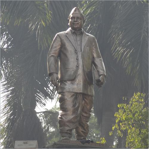 Dadasaheb Gayakwad Metal Statue, Size 7 feet