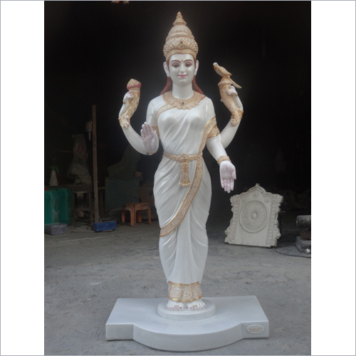Lord Vasvi Mata Marbal Statue 5 Feet- Cut Out