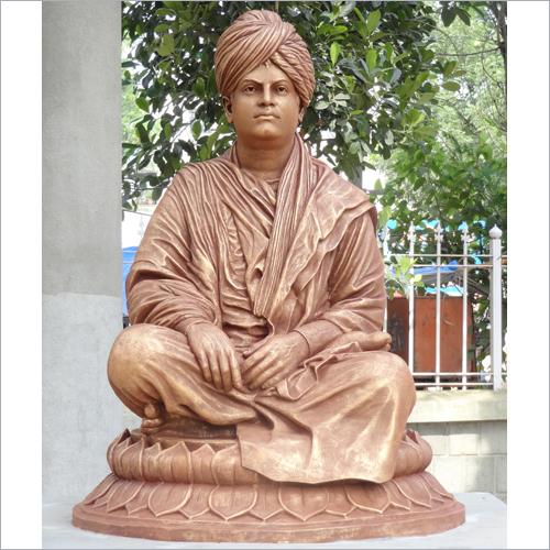 Swami Vivekananda Metal Statue Size 4 Feet