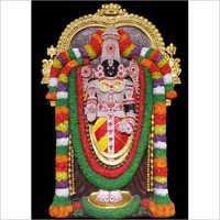 Lord Balaji m Mural 3x4 ft