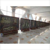 Sant Shri Swami Samarth Jiwan Charitra 28 Murals,  6x7 ft, Maharashtra