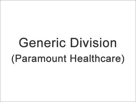 Generic Division (Paramount Healthcare)