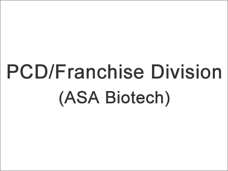 PCD/Franchise Division (ASA Biotech)