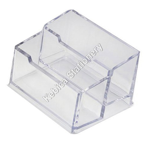 Business Card Holder display Stand for Trade fair, Promotion, Marketing 2-Tier