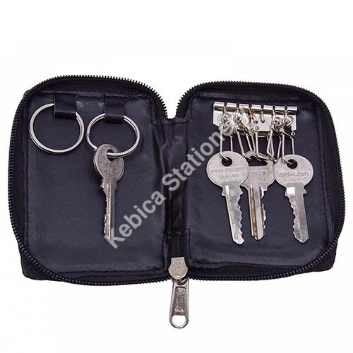 Faux Leather Unisex Key chain Key Holder Organizer Pouch (220)