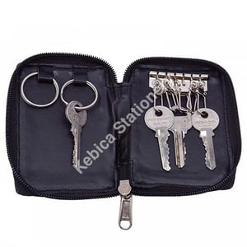 Faux Leather Unisex Key chain Key Holder Organizer Pouch (220)