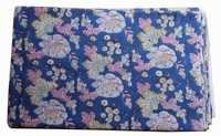 Hand Block Printed Cotton Floral Fabric