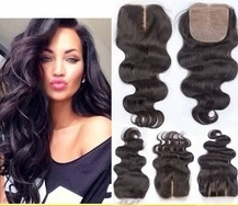 Human Hair Silk Closure