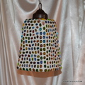 Hanging Smoke Glass Lamp Mosaic Hanging Lights