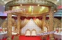 Heavy Fiber Carved Mandap