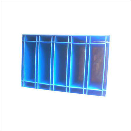 Blue PP Partiton Box
