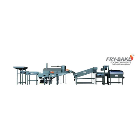 FullyAutomatic Pellet Frying Line with Wood Heater