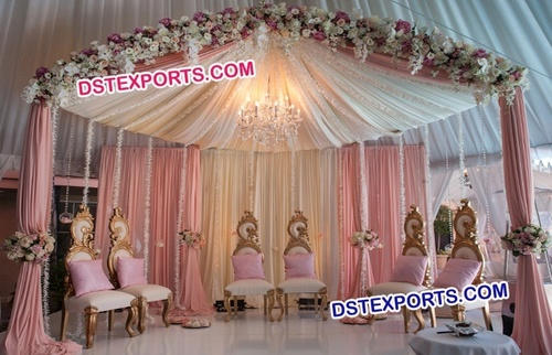 Golden Wedding Leaf Chairs