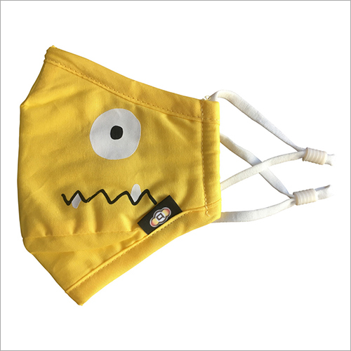 Spongy Yellow Side Anti Pollution Face Mask