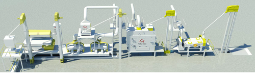 Oilseed and Pulse Cleaning Plant