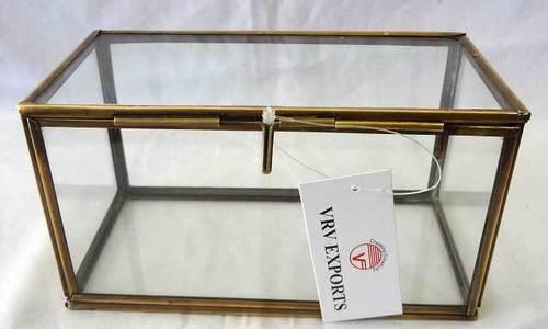 Brass and Glass Box