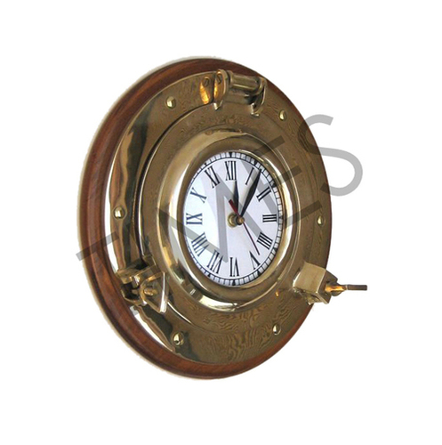 Nautical Brass Wall Clock