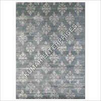 Silver-6X9 Handmade Carpet