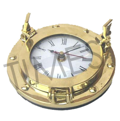 Nautical Brass Wall Clock