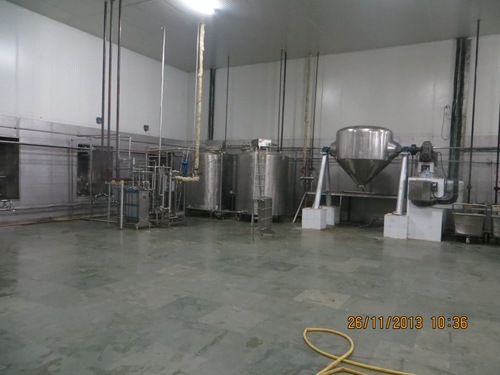 Milk Processing Plant (1000 LPD to 2000 LPD)