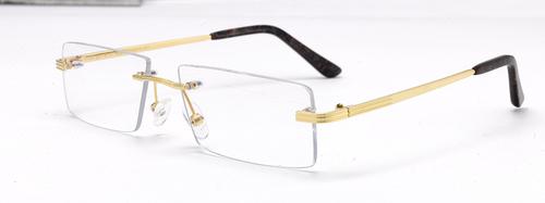 Gold Spectacles Frame 3L TP