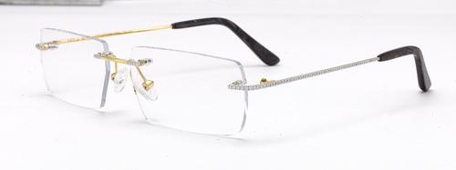 Gold Glasses Frame