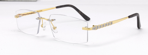 Pure Gold Glasses Frame