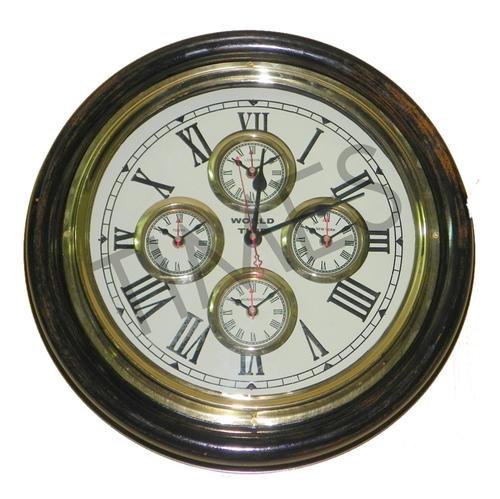 Nautical World Wall Clock