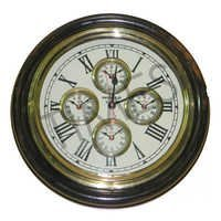 Nautical World Wall Clock