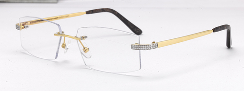 Sunglasses Gold Frame