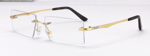 Gold Spectacles Frame