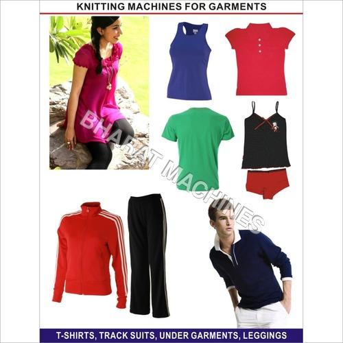 Garments Knitting Machines