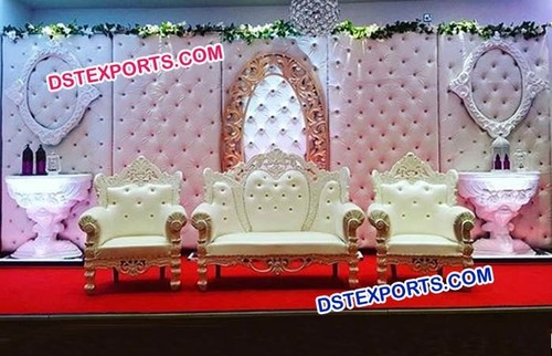 Crystal Fitted Leather Panel Stage