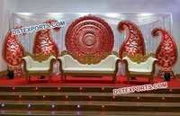 Wedding Round Panel Stage Decoration