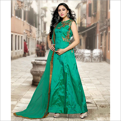 Ladies Party Wear Gown