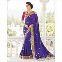 Ladies Embroidery Saree