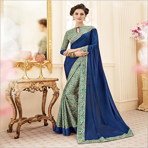 Ladies Fancy Embroidery Saree