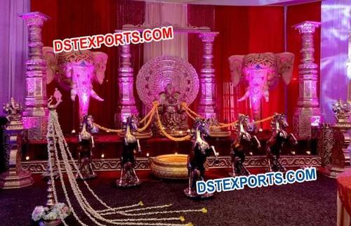 Dev Pillar Wedding Stage