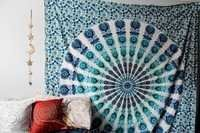 round manadal tapestry