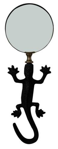Forged Iron Lizard Magnifying Glass